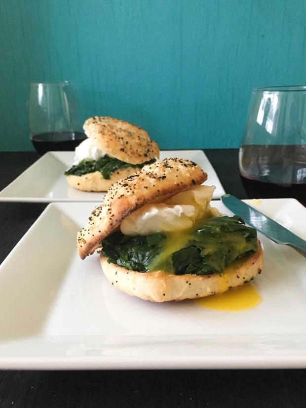 eggsflorentinebagelsandwich